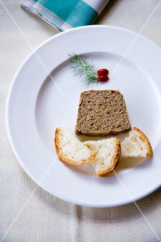 Patè di fegatini (liver pâte, Italy)