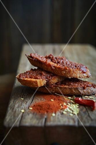 Nduja (spicy Italian salami spread)