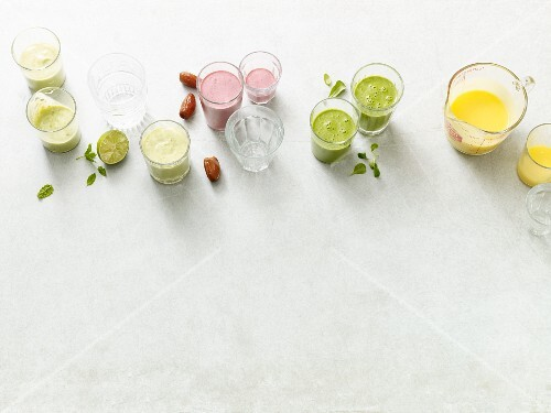 Four quick smoothies for the Paleo diet