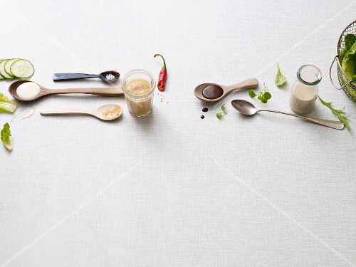 Four dressings from the Paleo diet