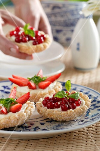 Fruit tartlets