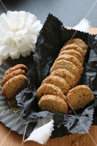 Gluten-free buckwheat biscuits with cardamom and coconut flower sugar