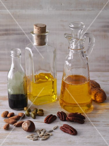 Nut and seed oil