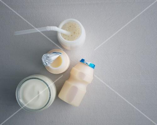 Probiotic yoghurt drinks