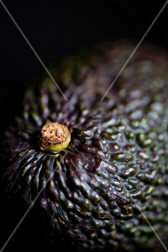 An avocado (close-up)