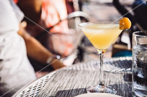A cocktail in the sunshine
