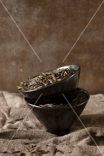 Bowls of wild rice