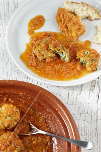 Tagine with fish nuggets