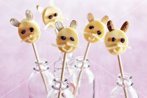 Cheese rabbit lollies
