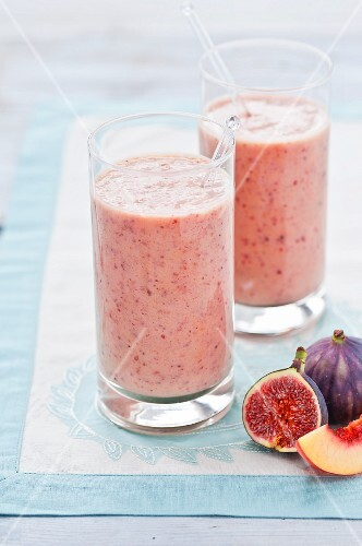Fig smoothies
