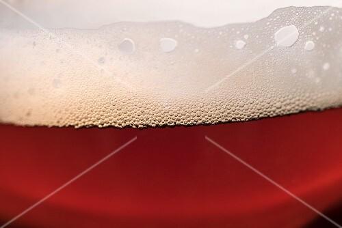Dark beer (detail)