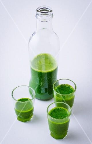 Glyx shots (mini green smoothie)