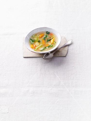 Vegetable broth à la Hildegard von Bingen