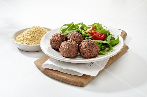 Meatballs with pea flour