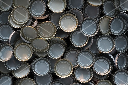 Beer caps (full frame)