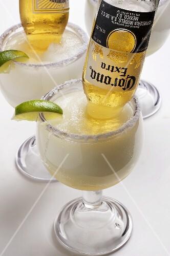 Mexican Bulldog Margaritas