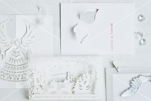 Verschiedene Weihnachtskarten