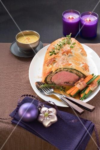 Fillet Wellington for Christmas dinner