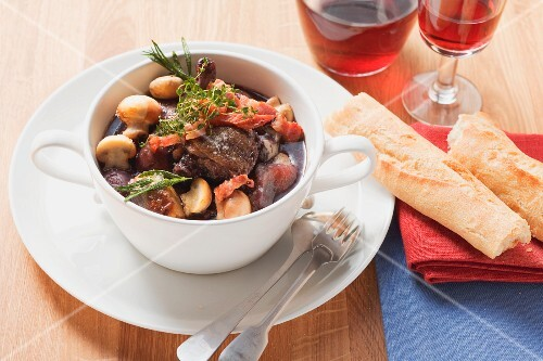 Coq au vin from France