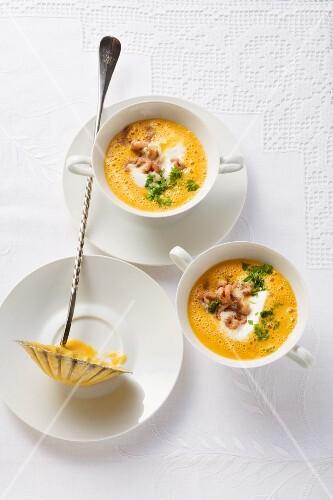 Büsum prawn soup