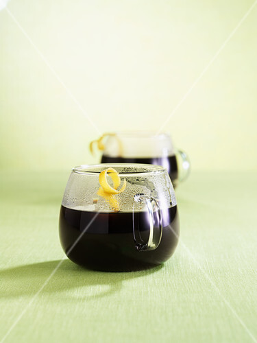 Sespresso (cocktail with cognac, rum, Kahlua & coffee)