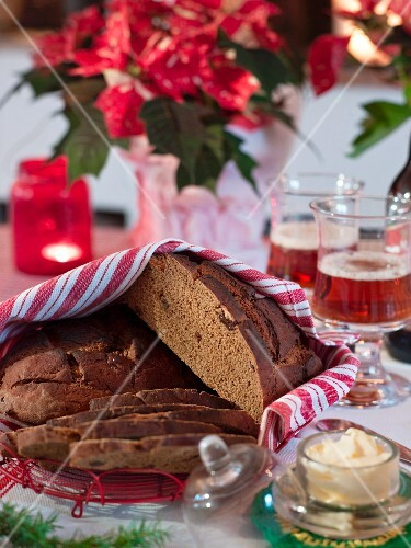 Swedish Christmas Bread.Vortbrod Swedish Christmas Bread License Images Stockfood