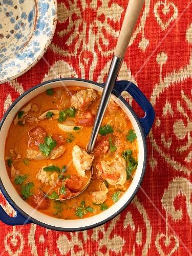 Chicken casserole (Thailand)
