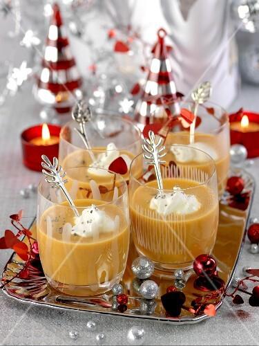 Pumpkin cappuccino