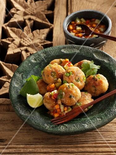 Thai-style fishcakes