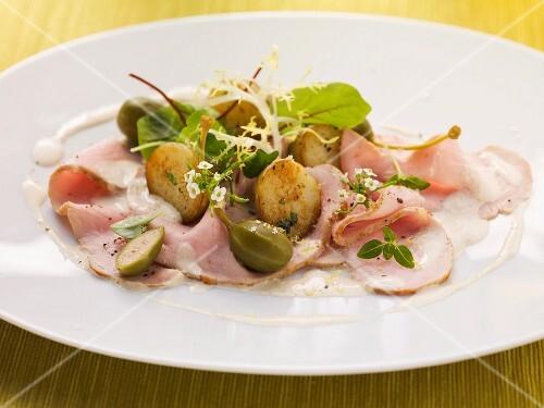 Vitello tonnato (veal in a tuna sauce, Italy)