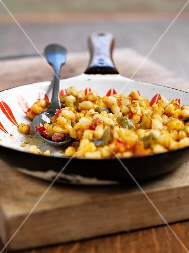 Sautéed haricot beans