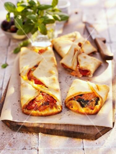 Stromboli (pizza turnover, Italy)