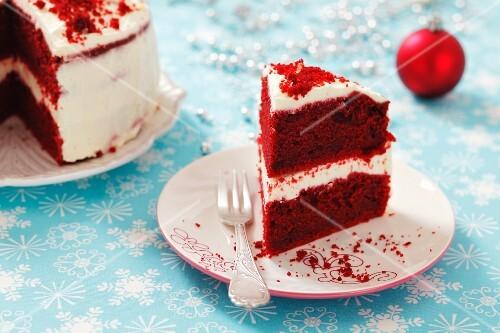 Red Velvet Cake (Christmas)