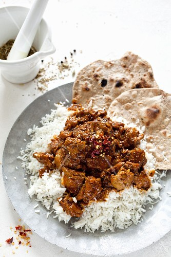 Rogan josg (spicy lamb dish from Kashmir)