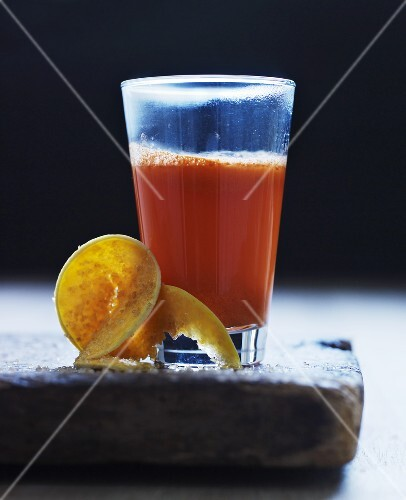 A papaya drink
