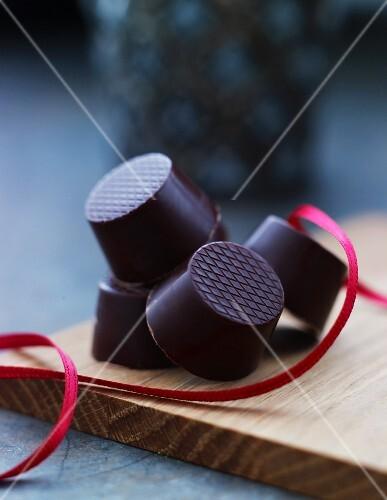 Chocolate sweets for Christmas