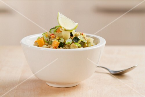 Bowl of Hearty Lentil Stew