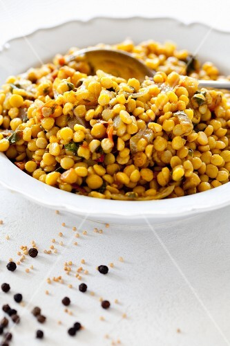 Lentil medley (children's dish)