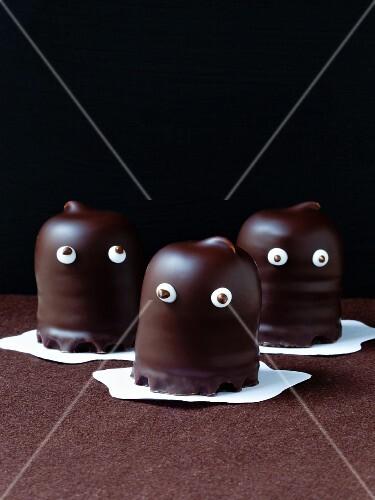 Chocolate ghosts