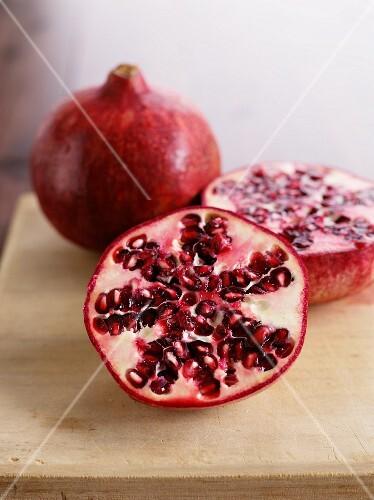 Fresh Organic Pomegranates