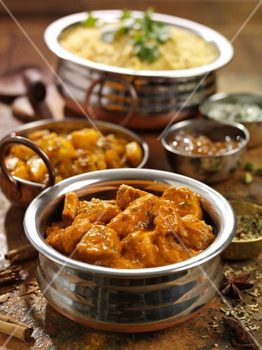 Chicken Tikka with Pilaw (India)