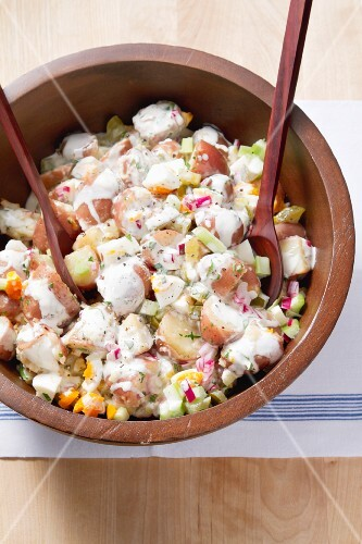 American potato salad
