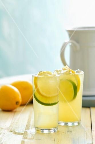 A citrus wine cooler