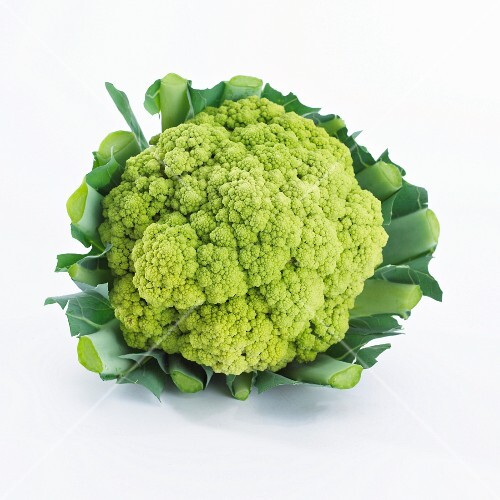 A green cauliflower