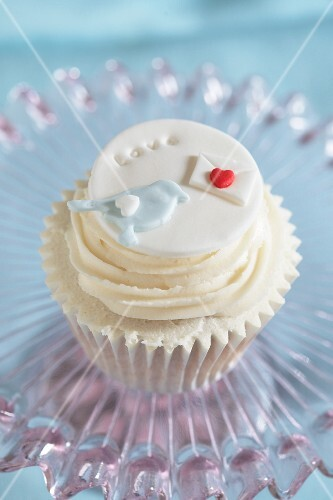 A love cupcake