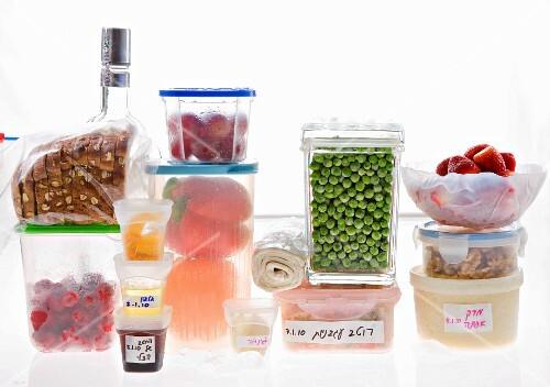 Lebensmittellagerung im Kühlschrank
