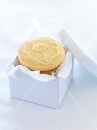 Shortbread biscuits as a gift