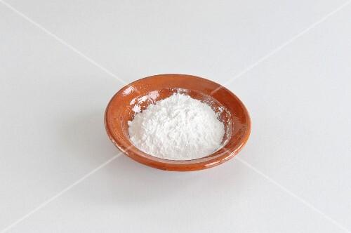 A bowl of kuzu (Asian binding ingredient)