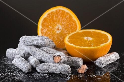 Chocolate-orange sweets