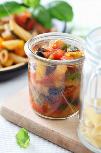 Caponata (pickled Italian vegetables)